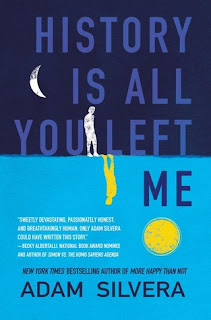 letmecrossover_blogger_michele_mattos_blog_book_books_booktube_reading_slump_currently_history_is_all_you_left_me_adam_silvera_diverse_lgbtq_plus_favorite_author_beautiful_cover_blue_zoella_club