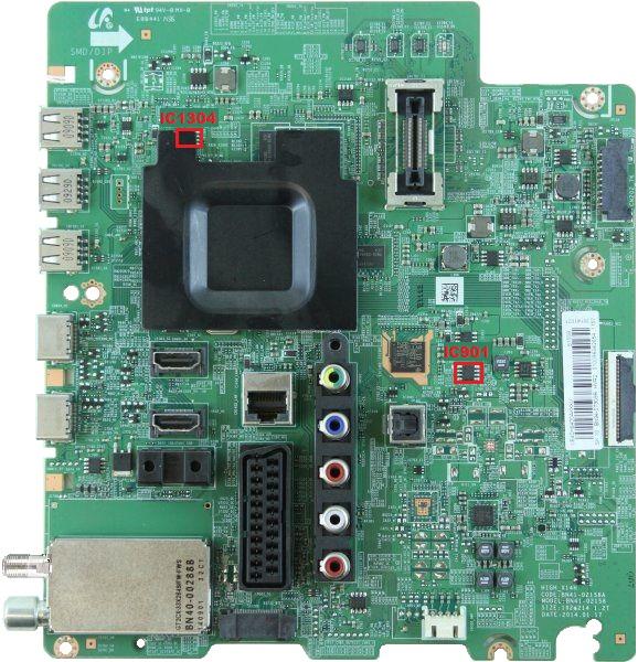 MEMORY DUMP TV: SAMSUNG UE48H6270AS