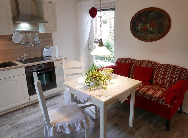 Wohnküche mit Ostfriesencouch