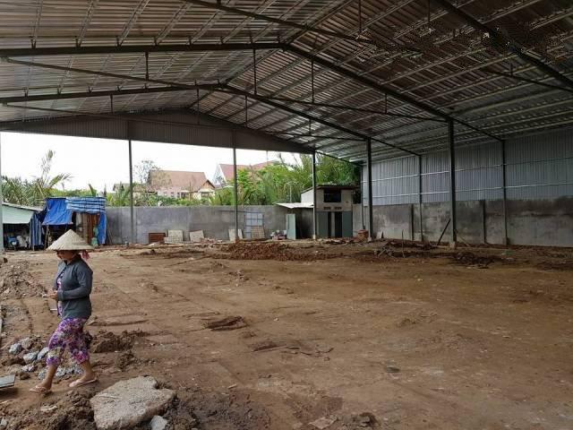 Cho thuê kho xưởng mới xây 1600m2 đường Hà Huy Giáp Quận 12