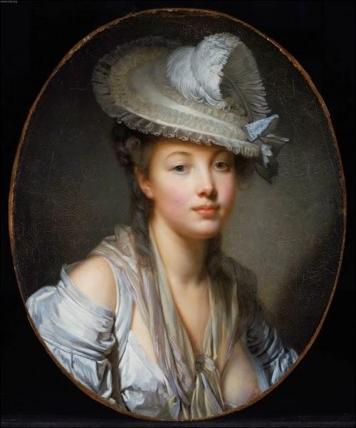 Portrait de Jeune femme, Rose-Adélaïde Ducreux