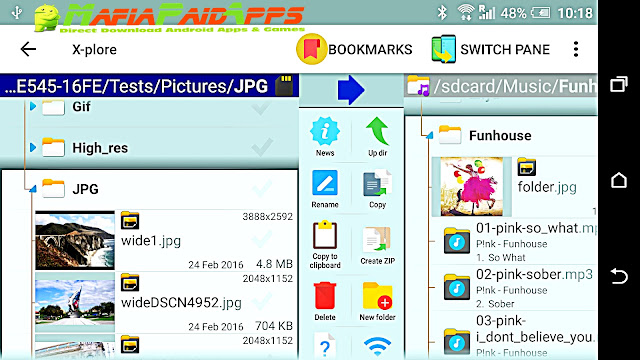X-plore File Manager Apk MafiaPaidApps