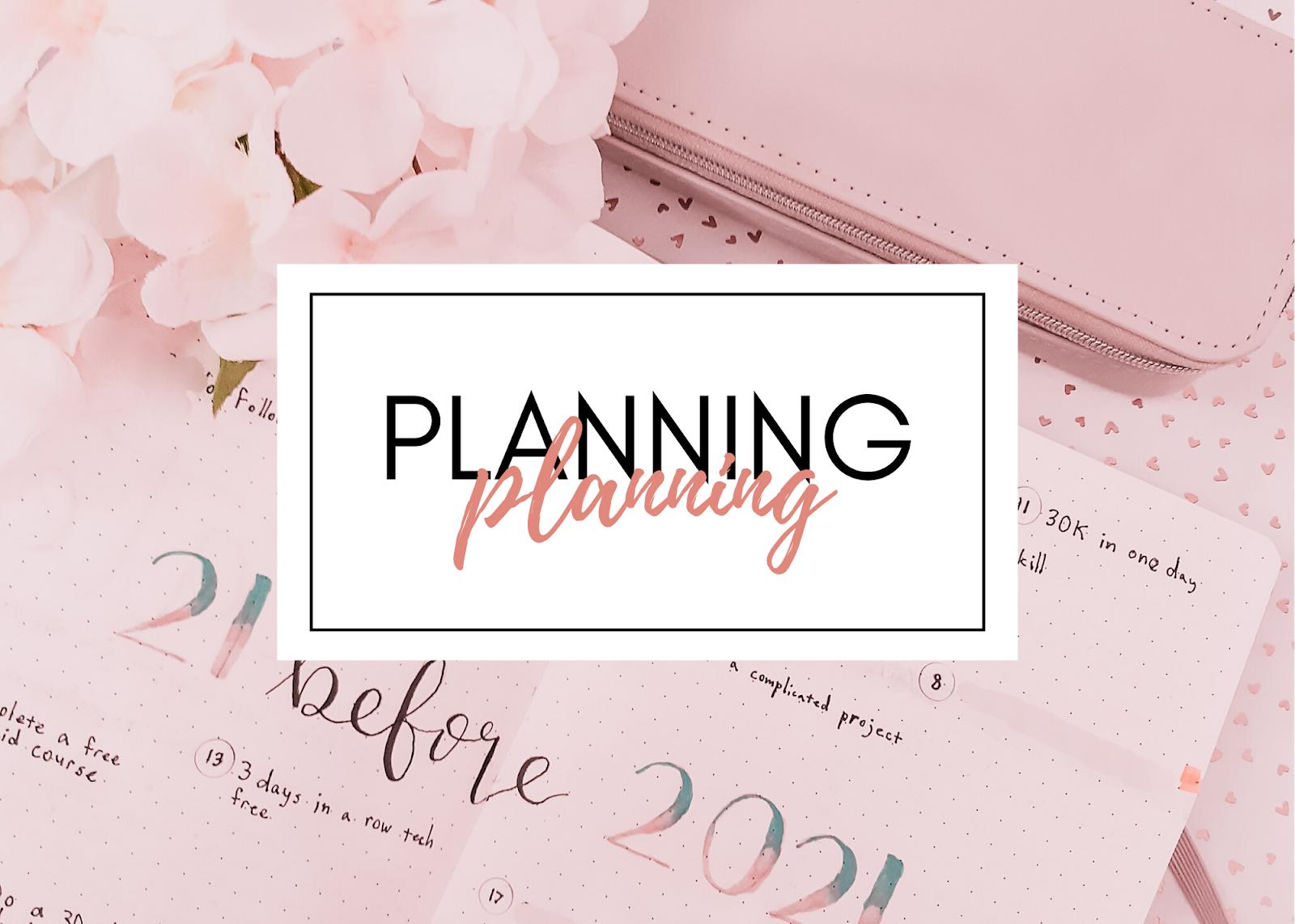 Bullet Journaling + Planning