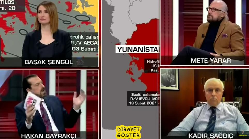 Προκαλεί Τούρκος αναλυτής: «Μπορούμε να μπούμε σε 12 μέρες στην Αθήνα»