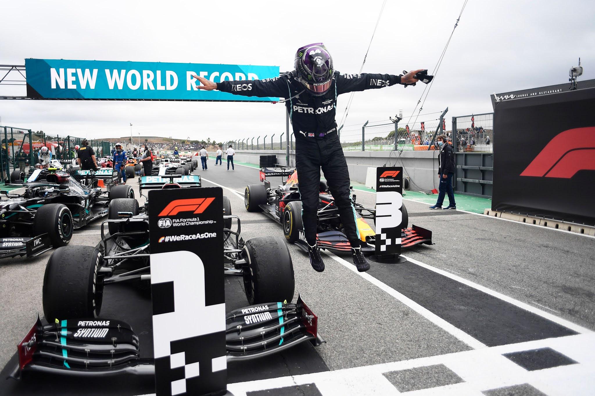 Lewis Hamilton histórico