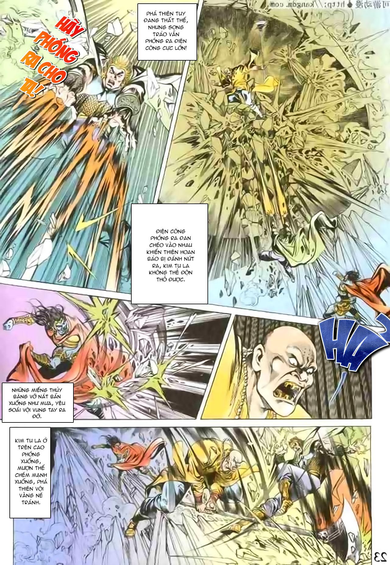 Cơ Phát Khai Chu Bản chapter 100 trang 21