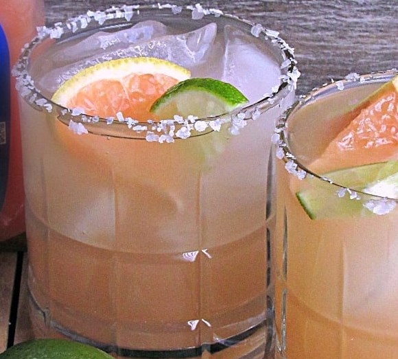 GRAPEFRUIT MARGARITA #drinks #cocktails