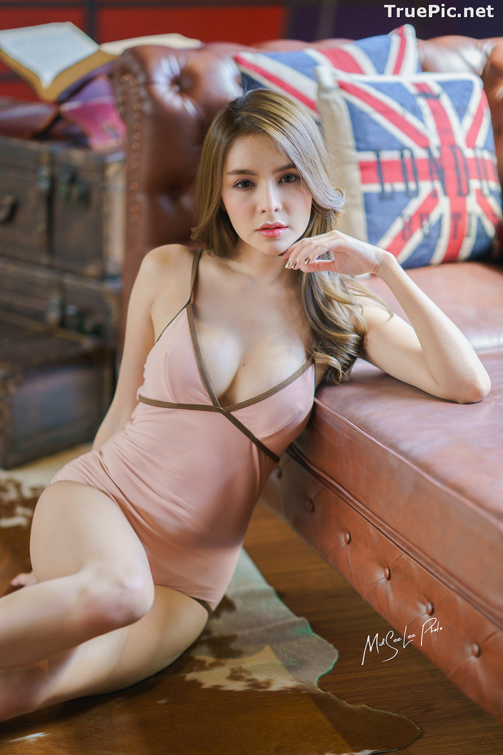Image Thailand Model - Soithip Palwongpaisal - Sexy and Cute Monokini - TruePic.net - Picture-2