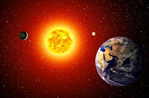 La Tierra vista desde cientos de años luz