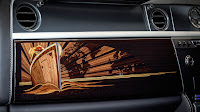 The last Phantom VII - marquetry