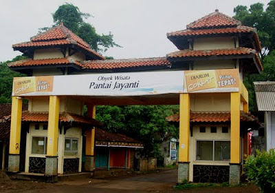 Pintu Gerbang Wisata Pantai Jayanti