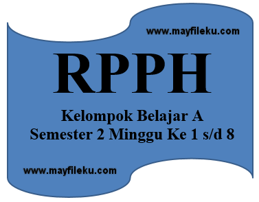 RPPH Kelompok Belajar A (KB-A) Semester 2 Minggu Ke 1 s/d 8
