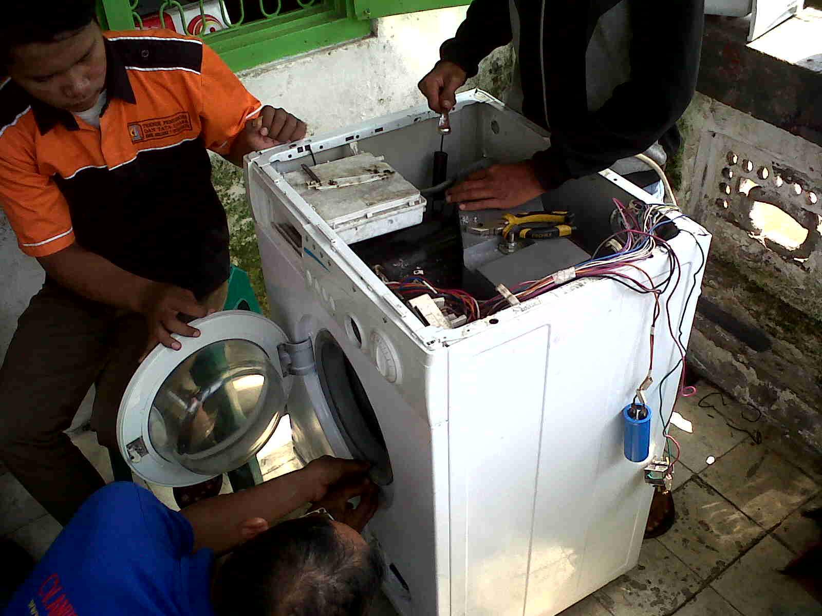 Penyebab Mesin Cuci 1 Tabung Tidak Berputar Atau Tidak Bisa Spin