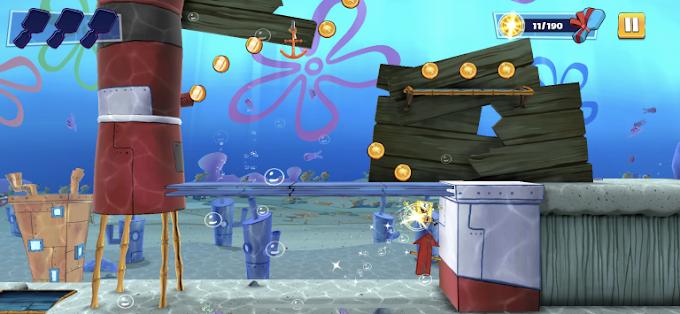 Apple Arcade recebe o jogo do Bob Esponja, Em Busca do Hambúrguer