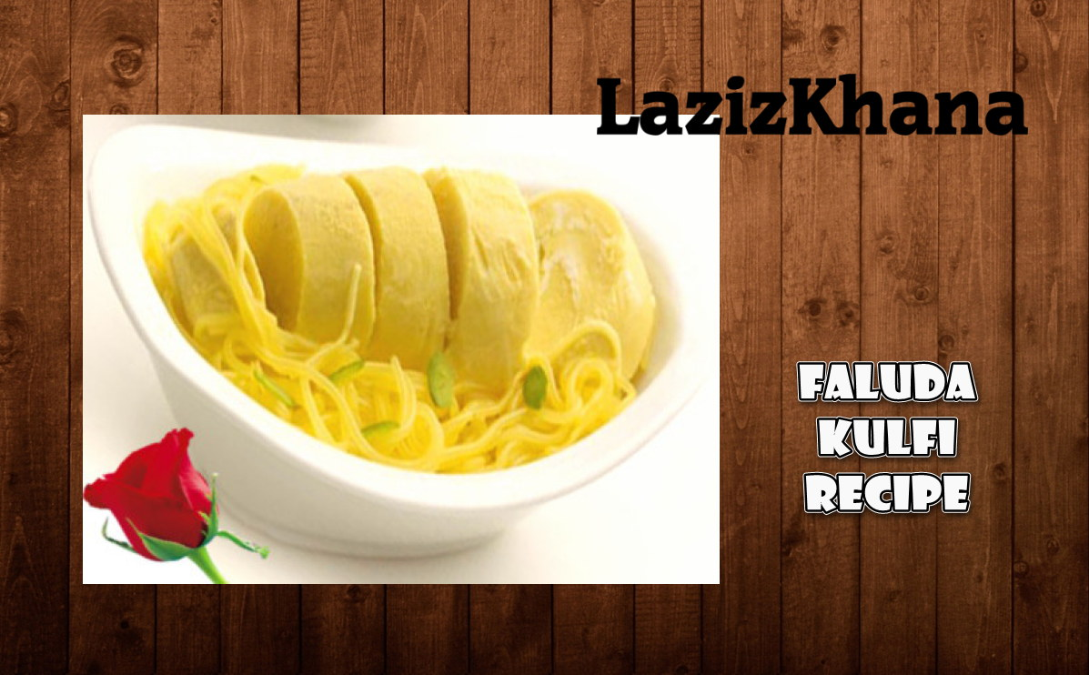 Faluda Kulfi Recipe in Roman English - Faluda Kulfi Banane ka Tarika