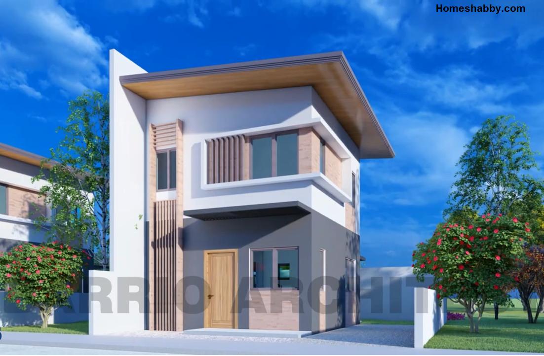 Desain Dan Denah Rumah Minimalis Ukuran 5 X 5 M 2 Lantai Tampil Lebih Mewah Dan Unik Homeshabby Com Design Home Plans Home Decorating And Interior Design