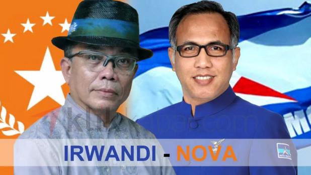 Irwandi Dipastikan Maju dengan Nova, Besok Demokrat Serahkan Dukungan di Jakarta