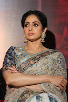 Sri Devi in designer saree stunning beauty at the launch of MOM movie Trailer~  Exclusive 063.JPG