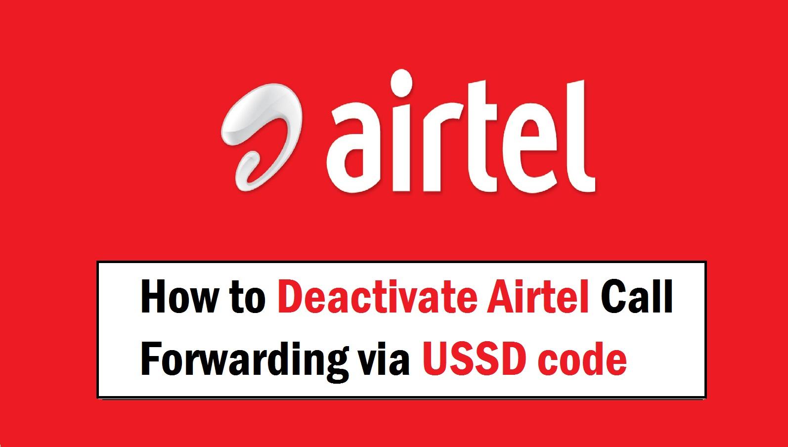 How to Deactivate Airtel Call Forwarding