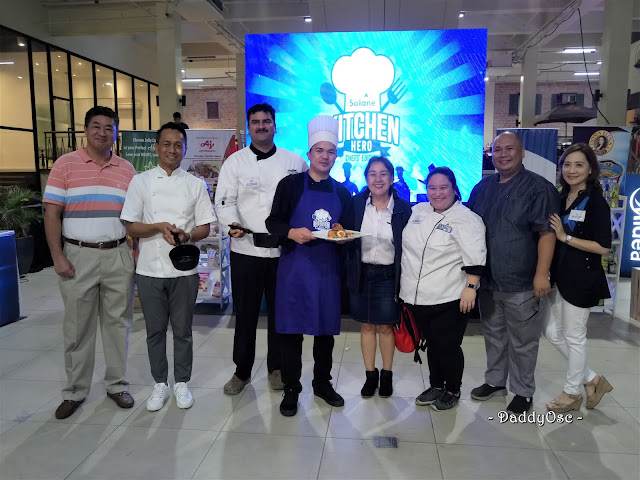 Soalne Kitchen Hero Chefs' Edition Manila Leg Winner and Judges