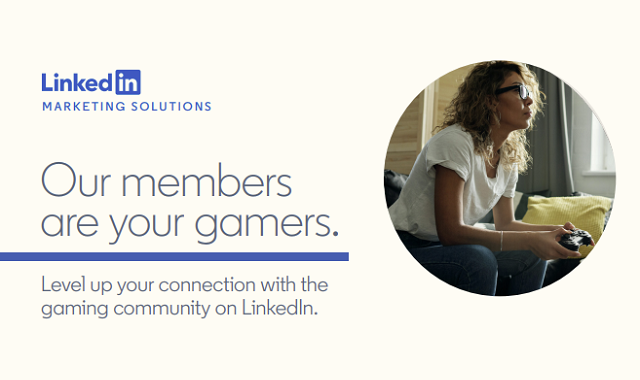 LinkedIn: A new place for gamers