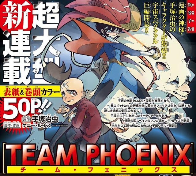 Kenny Ruiz lanzará en Japón el manga Team Phoenix