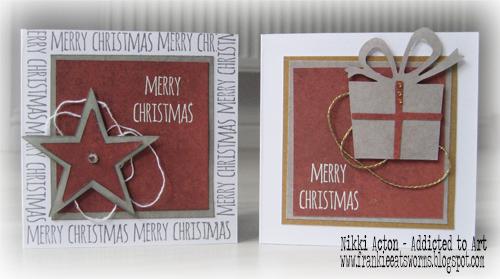 Nikki Acton Simple Christmas Cards