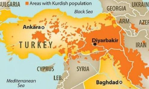 Ο διαμελισμός της Τουρκίας σε 5 κομμάτια και πως πρέπει να γίνει