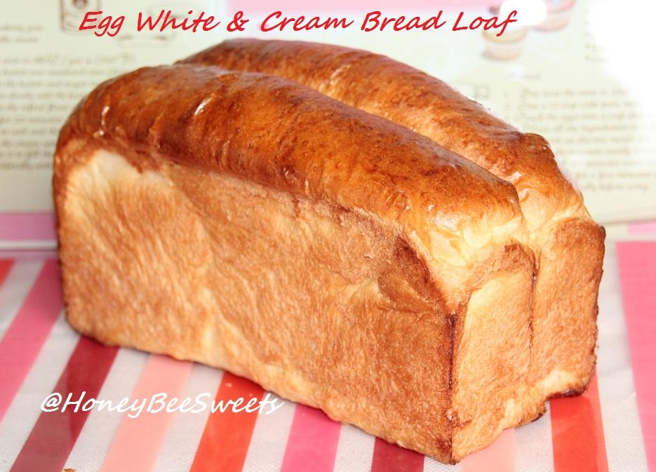 Honey Bee Sweets Egg White Amp Cream Bread Loaf 蛋白醇奶土司