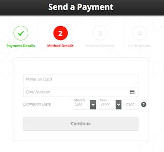 send payment payoneer menggunakan Kartu Kredit