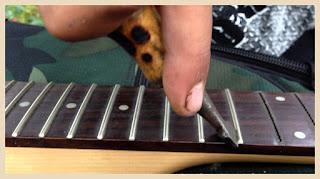 Gambar fret gitar