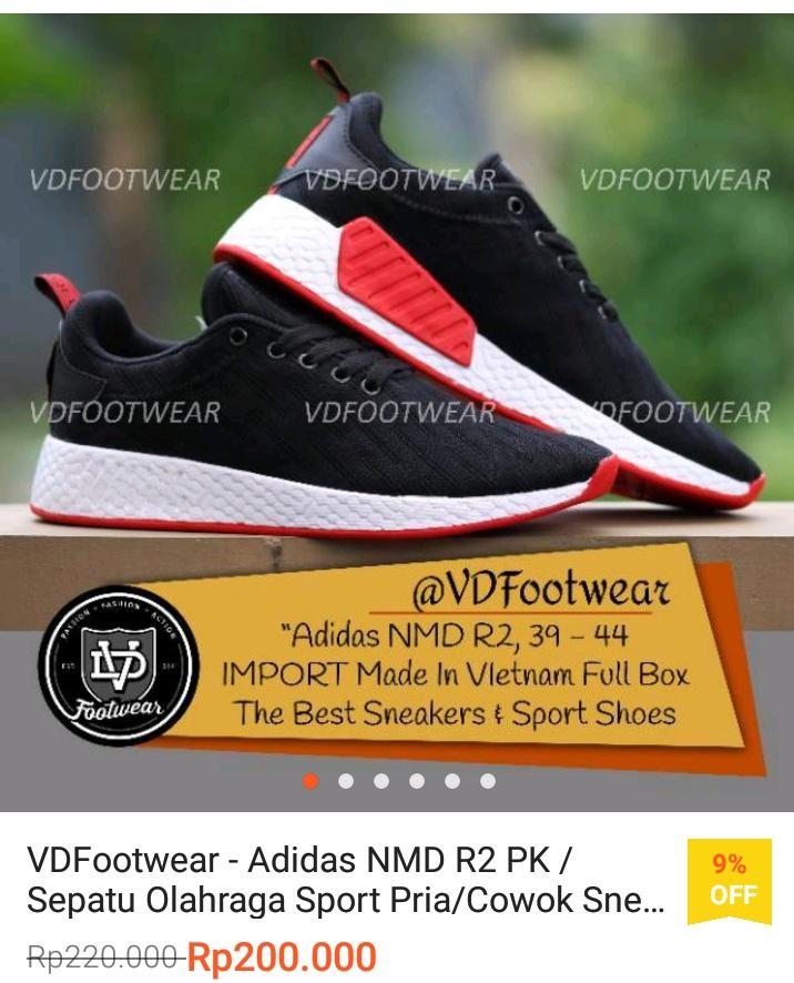 Review Pengalaman Memakai Sepatu Adidas Seharga Rp200.000 Made Vietnam