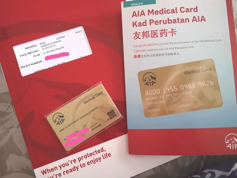 Pelan A-Life Medical Regular AIA untuk Mimi dan Anak Anak