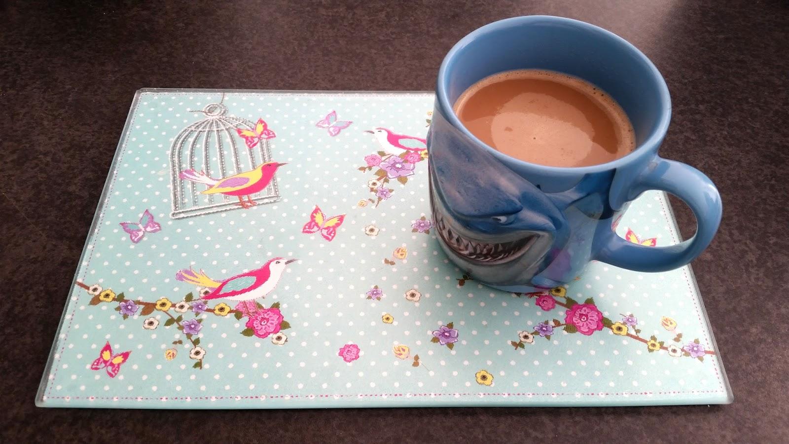 disney finding nemo bruce mug, morning coffee
