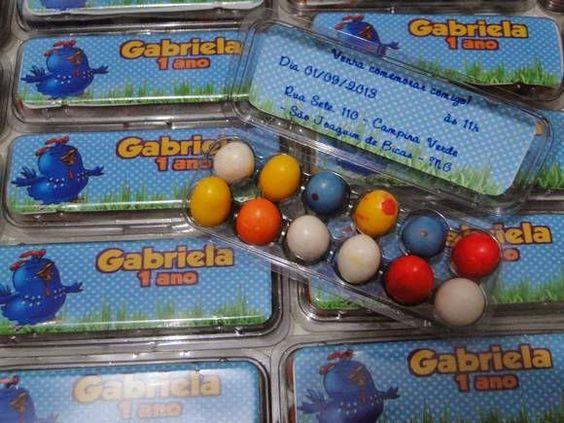 85 Lembrancinhas para a festa Galinha Pintadinha