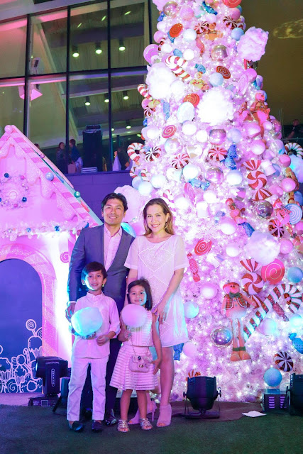 Celebrating Candied Holiday Cheer at Century City Mall