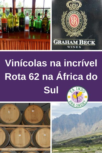 Vinícolas na Rota 62 na África do Sul