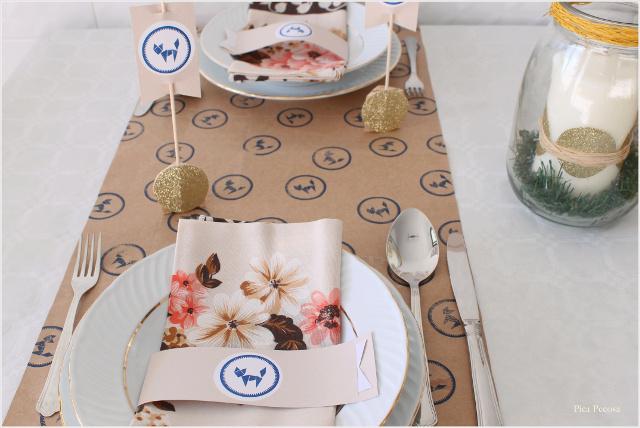 decoracion-mesa-navidad-diy-materiales-reciclados