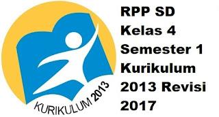 RPP SD Kelas 4 Semester 1 Kurikulum 2013