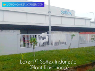 Loker PT Softex Indonesia Karawang 2020