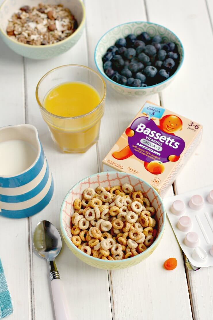 Breakfast with Bassetts Vitamins