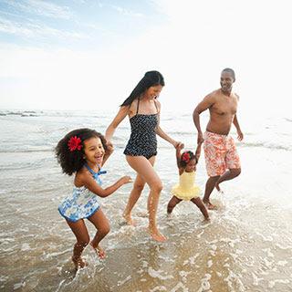 Rodzinna wielokolorowa radość