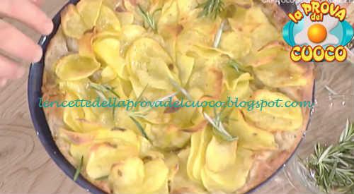 Prova del cuoco - Ingredienti e procedimento della ricetta Pizza con le patate a sfoglia di Gabriele Bonci