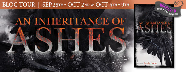 Once Upon a Twilight!: Blog Tour: An Inheritance of Ashes by