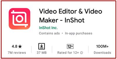 InShot - ৫টি সেরা ভিডিও এডিটিং অ্যাপ