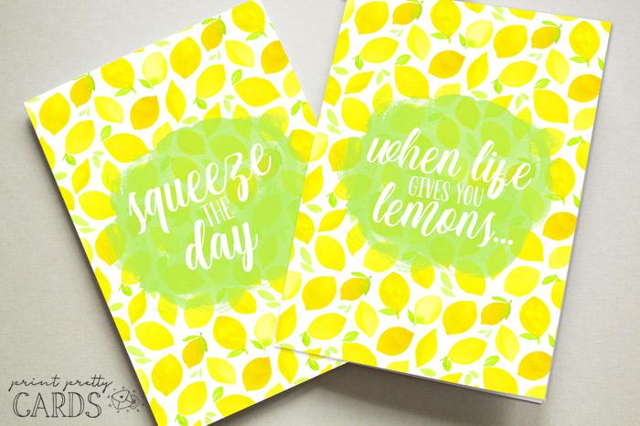 Lemon Cards