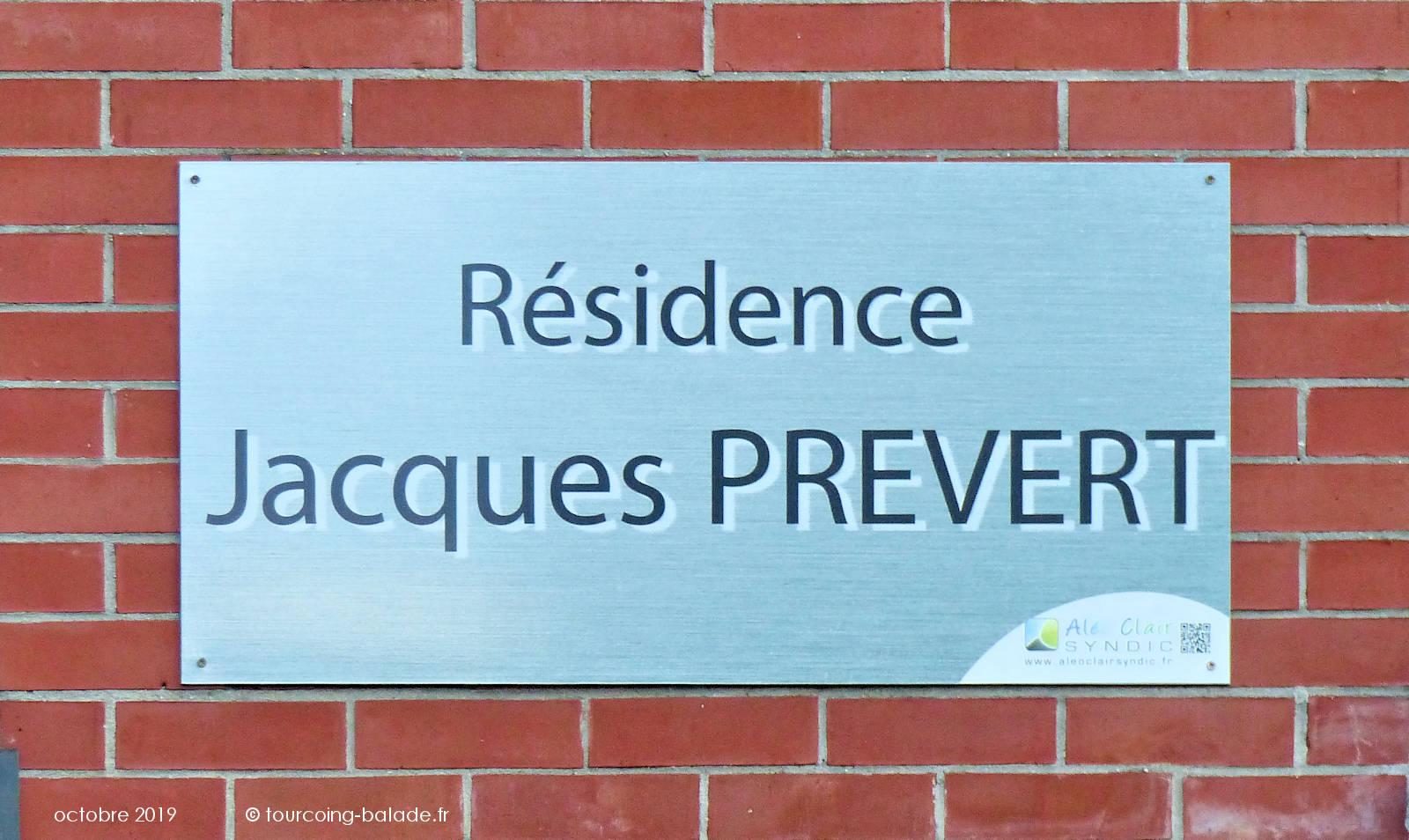 Appartements Tourcoing - Résidence Jacques Prévert