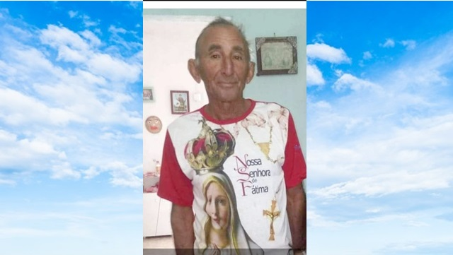 Família informa falecimento de JOSÉ ALVES, Conhecido por seu DECA