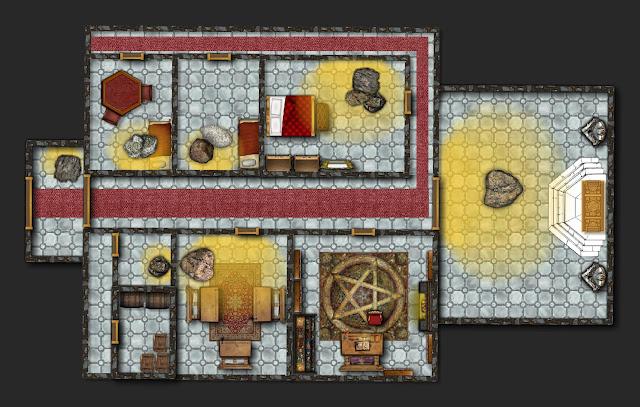 Aventura de Navidad para Dungeons & Dragons - La Frontera del Invierno - Templo de Kharatna