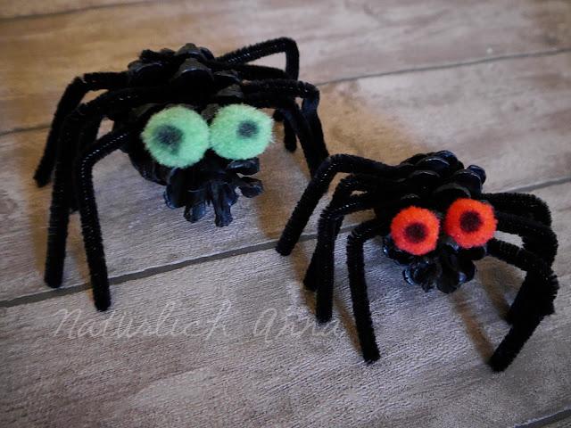 halloween basteln mit naturmaterialien nat rlich anna. Black Bedroom Furniture Sets. Home Design Ideas